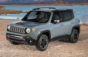 Although the new Renegade is four-cylinder-powered, Jeep says it's plenty good at the off-road stuff.