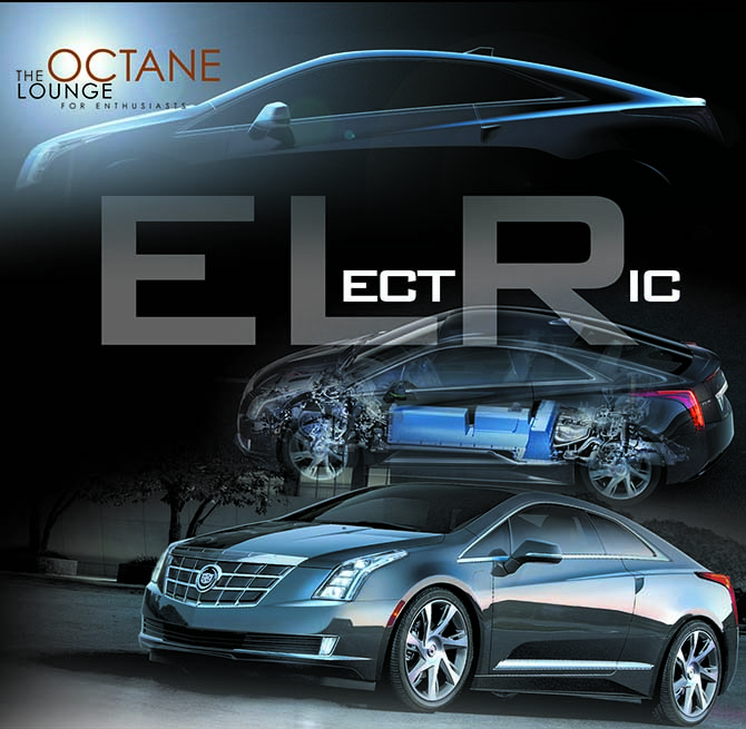 Cadillac ELR extended-range electric vehicle