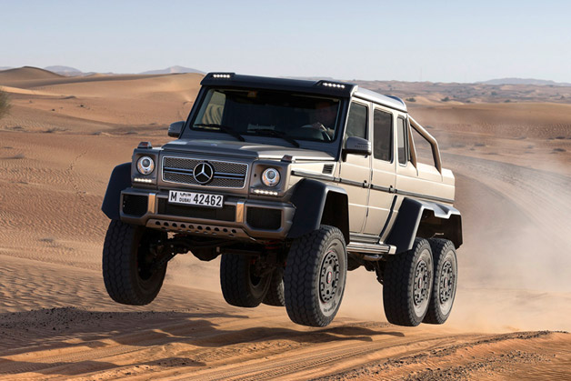 Test a G63 6×6 SUV in Abu Dhabi