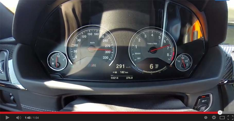 Just how fast is the new BMW M4?