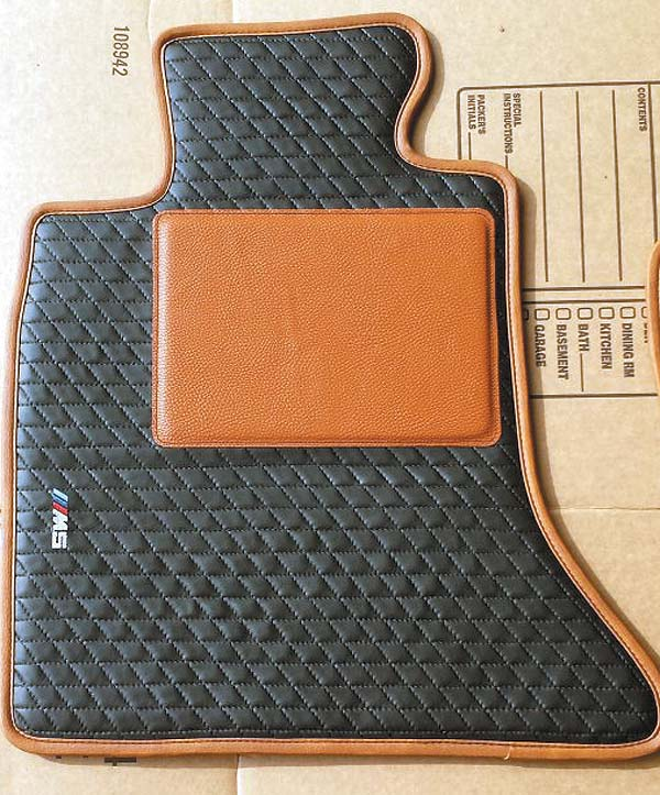 Leather floor mats?