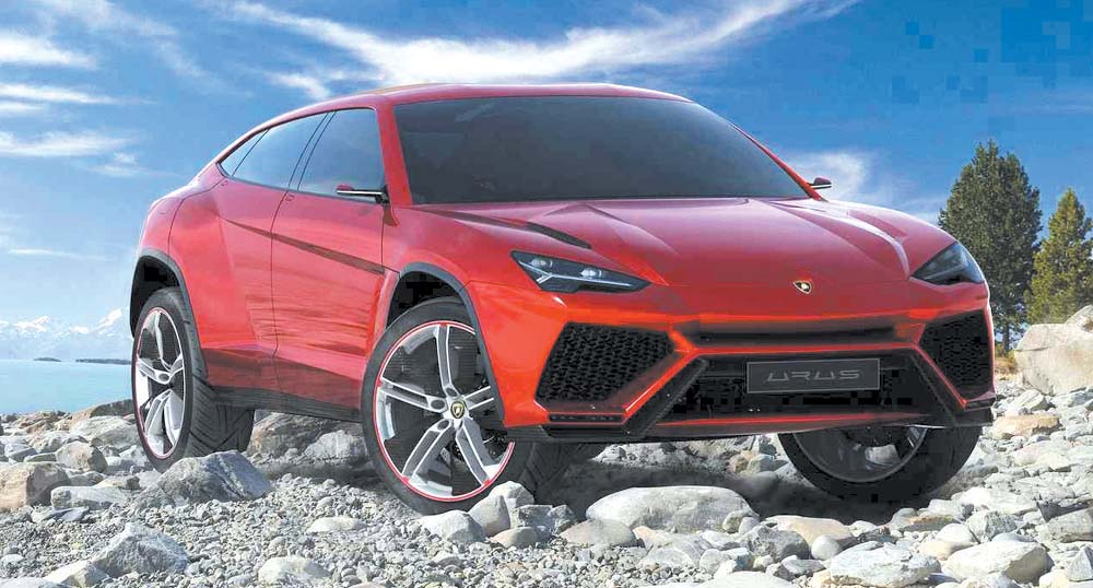 Lambo's off-roader is closer to reality: