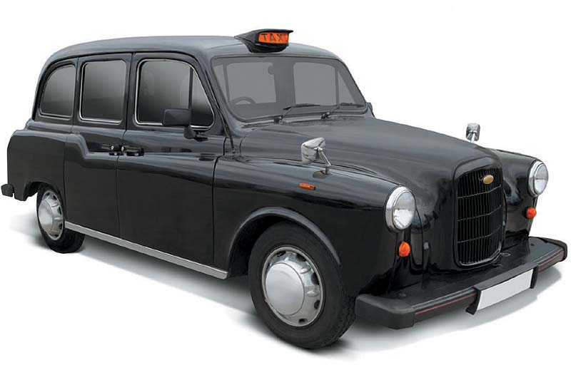 Grab a cab from London