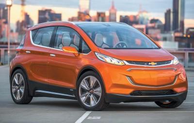 2015 Chevrolet Bolt EV Concept all electric vehicle – fron