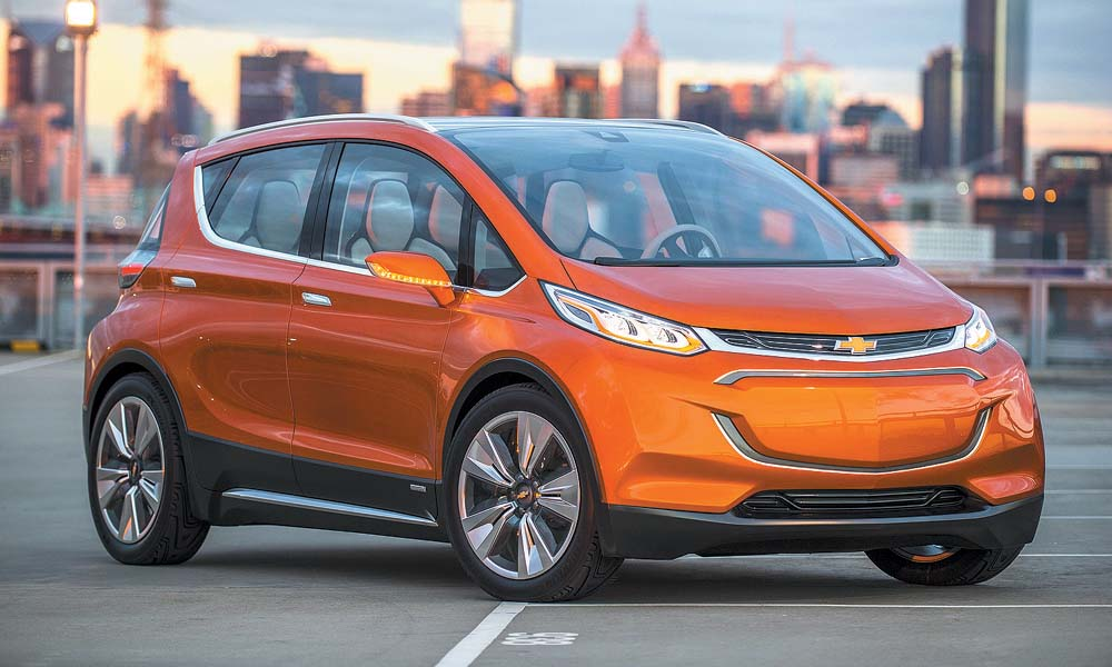 2015 Chevrolet Bolt EV Concept all electric vehicle – fron