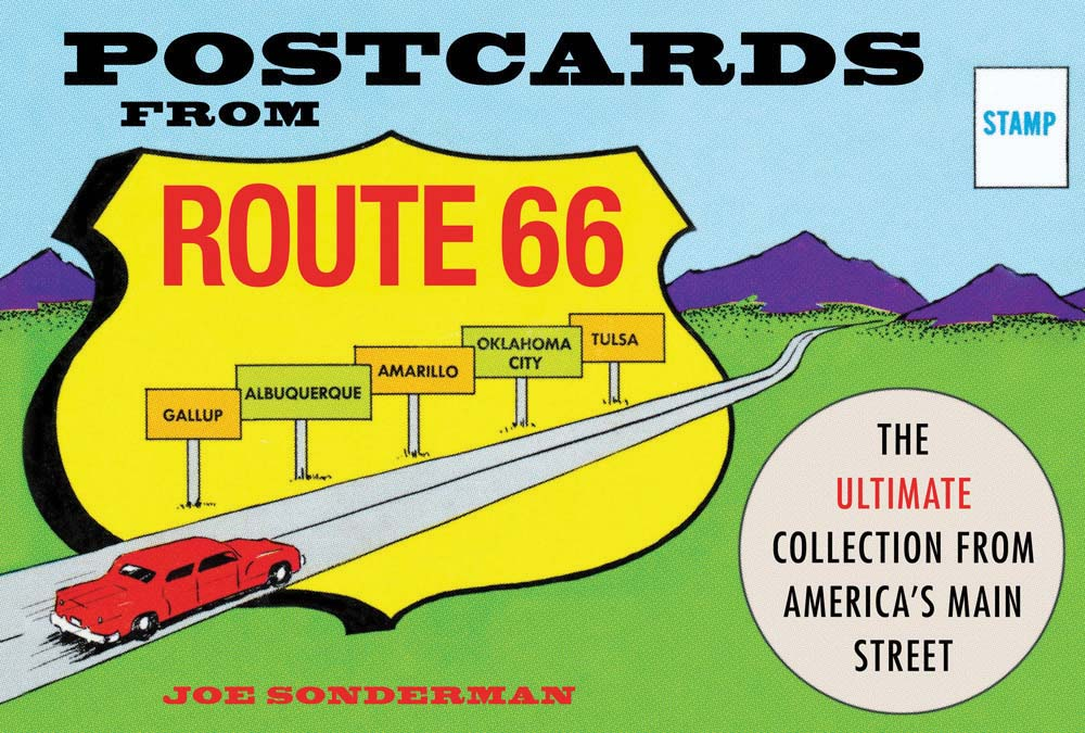 Route 66 postcards