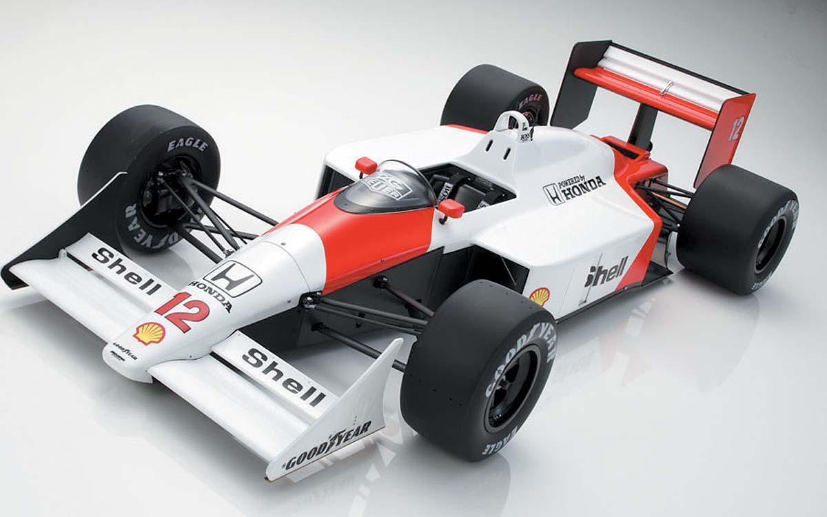 Senna's tiny McLaren
