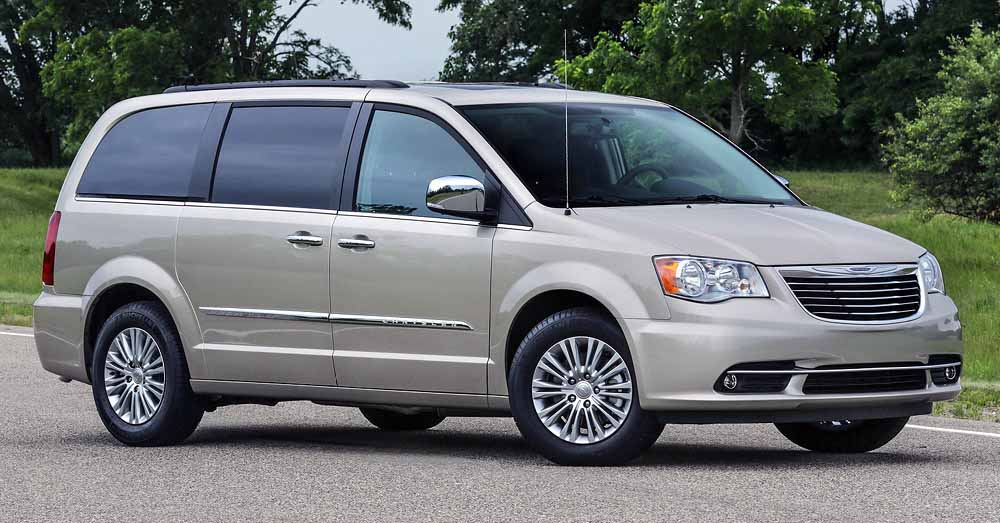 2016 Chrysler Town & Country Anniversary Edition