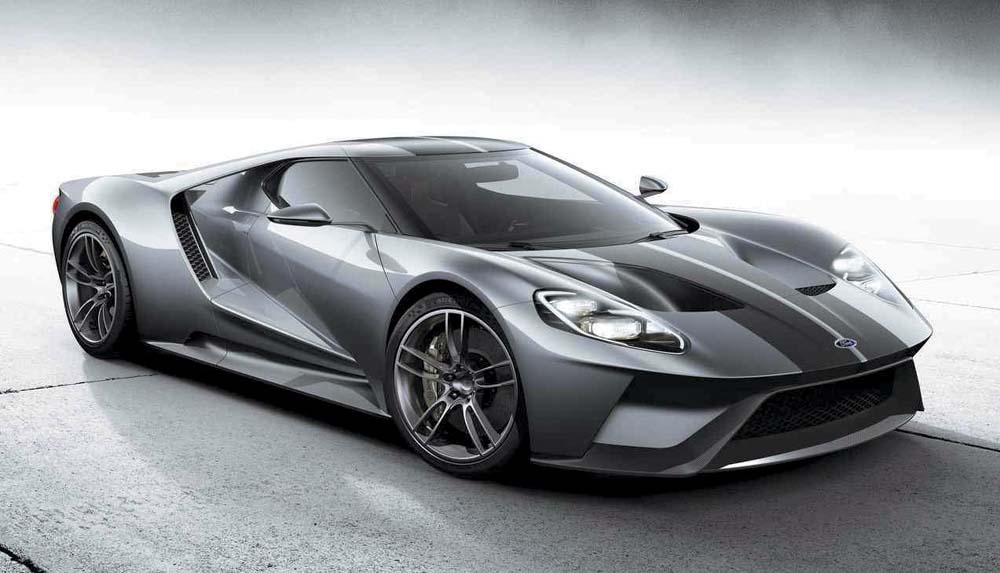 The  Ford Gt Is Made Mostly Of Carbon Fiber And Will Carry The Torch For The Ecoboost Brand With A  Horsepower V