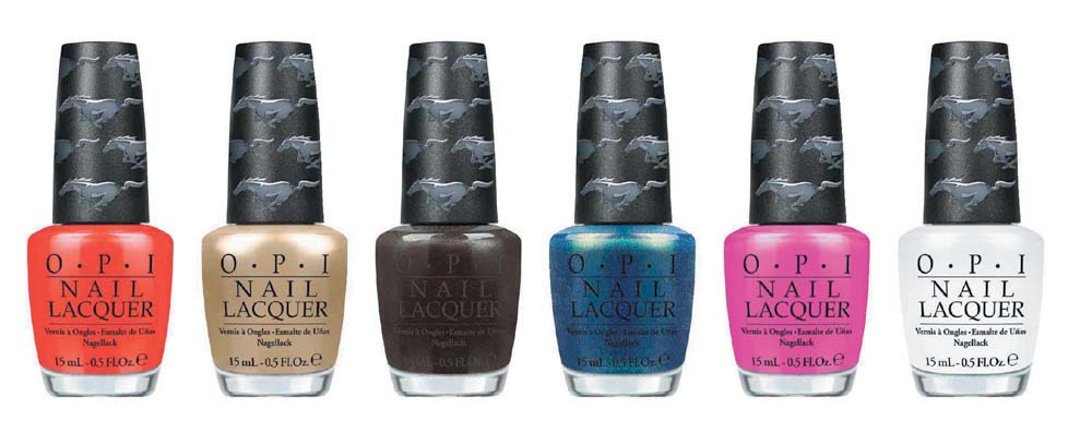 OPI Ford Mustang Collection