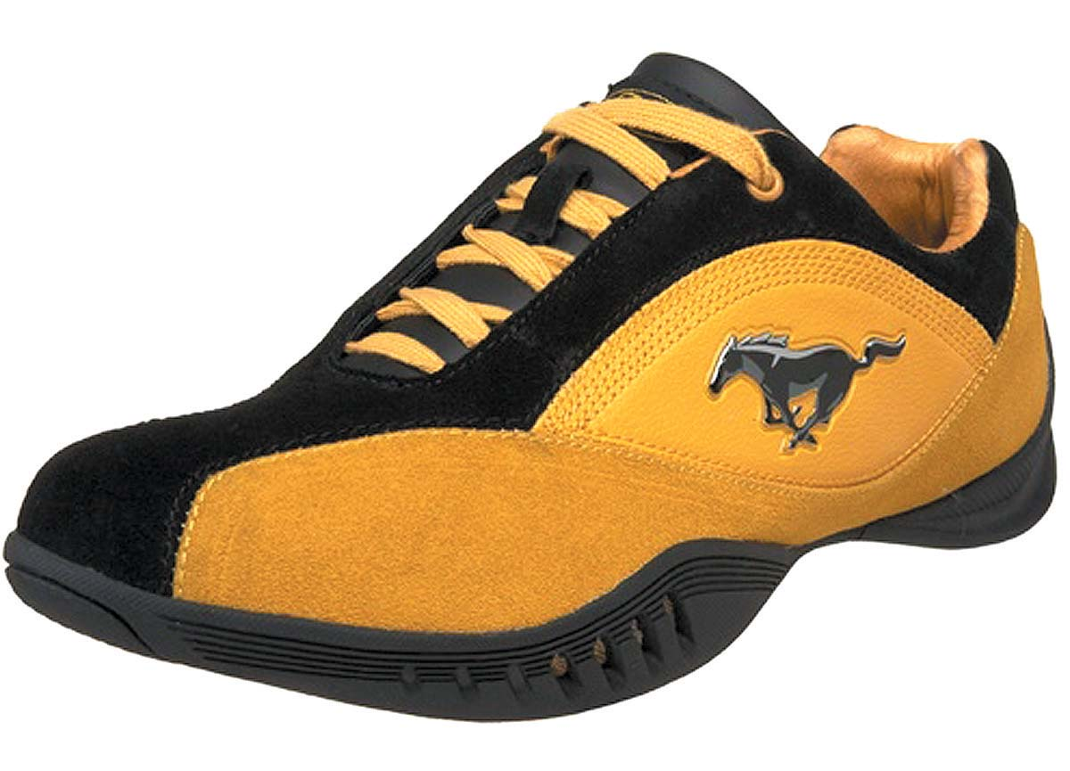 Mustang style in a shoe