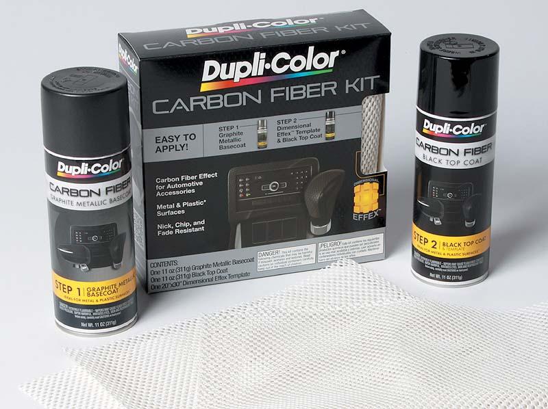 Carbon-fiber look