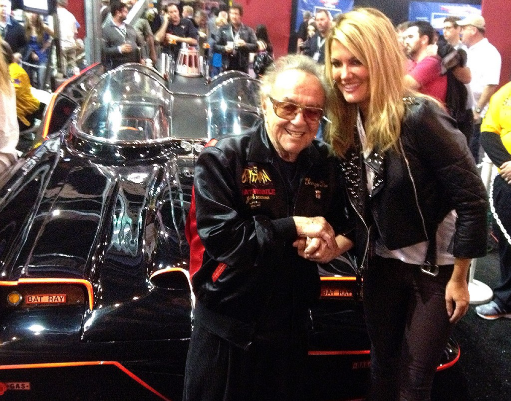 Certainly one of the most memorable occasions was the day George Barris's Batmobile sold at auction for more than $4 million. George actually owned the car and not the studio.