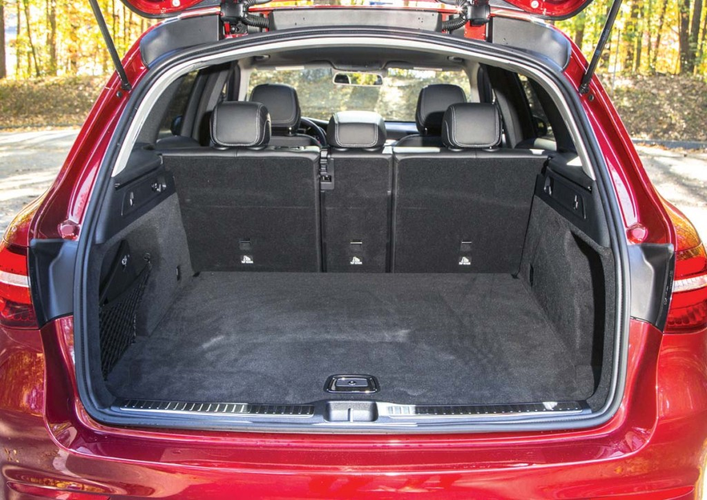 Most of the GLC's increase in size goes to passenger room, although there's a bit more cargo space.