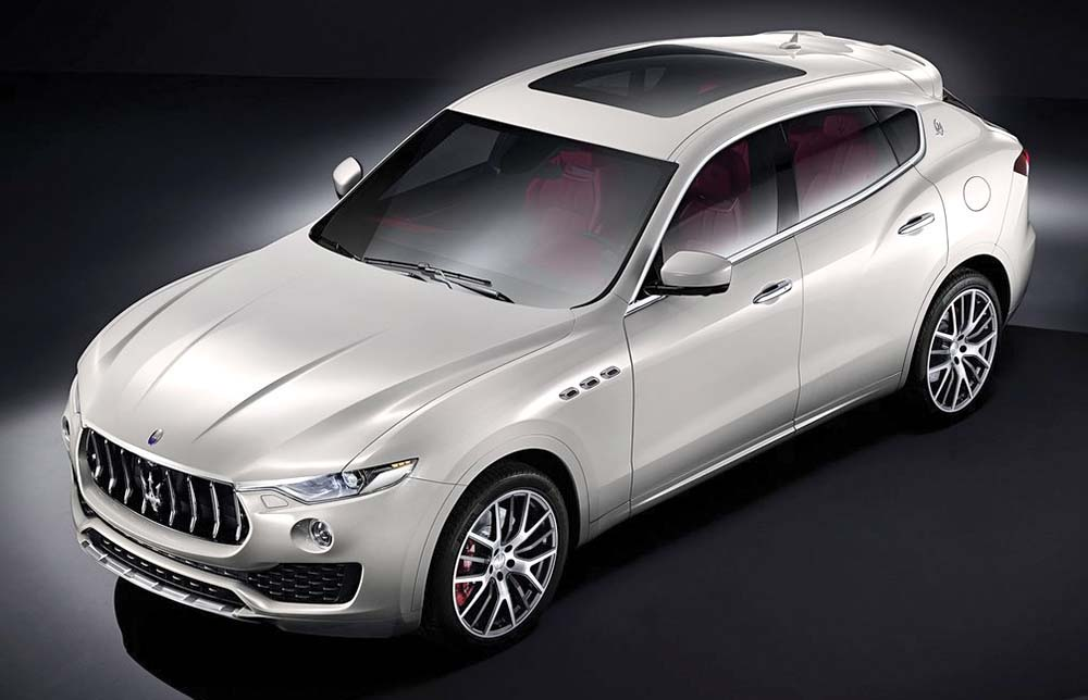 A Maserati tall wagon? Hey everyone is doing it: