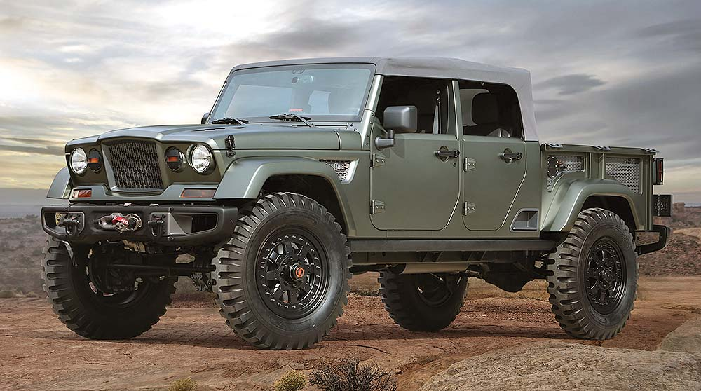 2018 Jeep Wrangler pickup revealed?