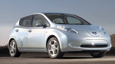 In terms of overall environmental impact, the Nissan Leaf electric is better than the best gasoline car by 47 percent: