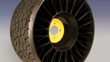 Low-speed markets first focus for airless tire:
