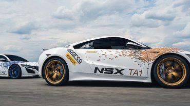 Acura's NSX assault on Pikes Peak: