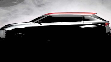 A full-size tall wagon is coming from Mitsubishi: