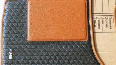 Leather floor mats?