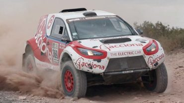 Electric car completes 'world's toughest' Dakar Rally: