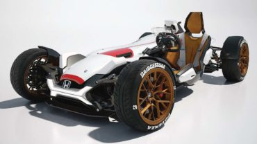 Is Honda planning a four-wheel motorcycle?