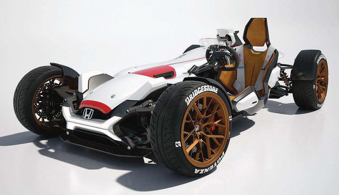 Is Honda Planning A Four Wheel Motorcycle The Octane Lounge