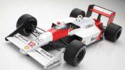 Senna's scale racer