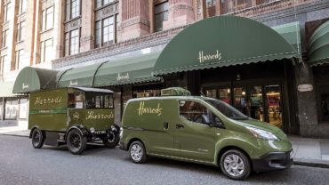 Harrods' EV delivery vehicles need to be charged only once a week: