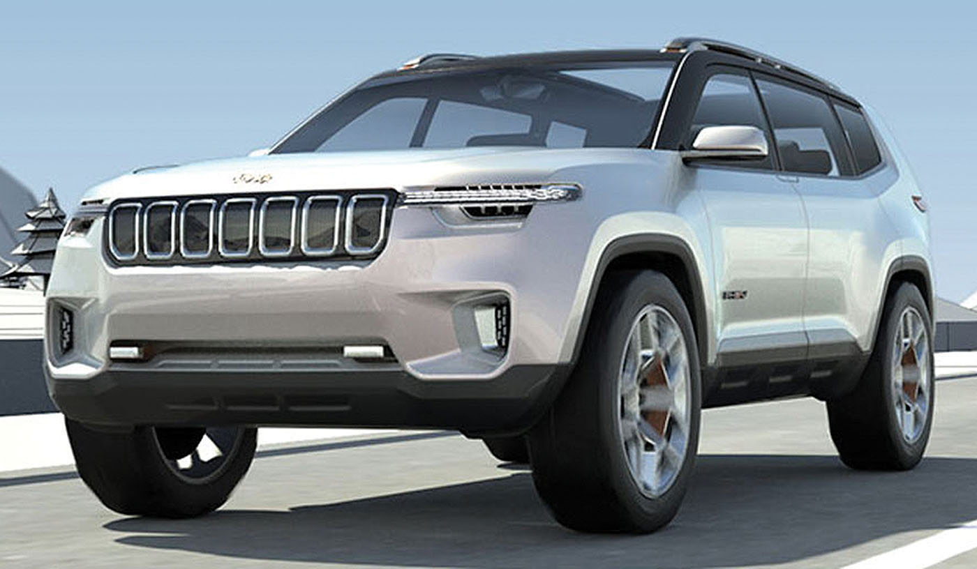 The Only Real Spot In Jeep Lineup For A New Model Is At Top Above Grand Cherokee And Yuntu Concept Could Be It Photo