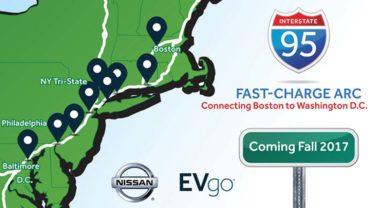 Nissan powers Boston-to-Washington traffic corridor: