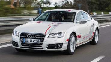 New Audi self-driving car plays well with others: