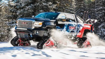 GMC makes tracks for the mountains: