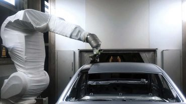 Audi tests overspray-free, multi-colored body-paint process: