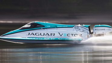 EV auto-racing tech powers electric boat to new world-speed record: