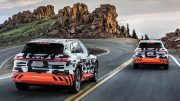 Audi raises the bar in downhill-energy capture: