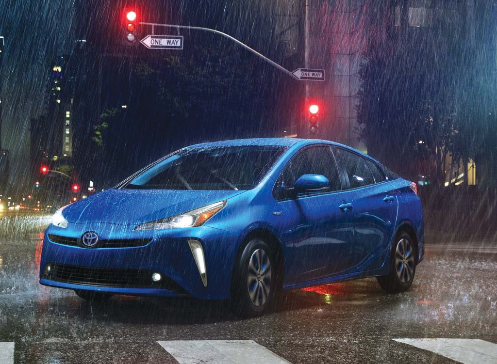 Prius Model Gets Electric All Wheel Drive