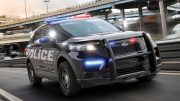 Speed, protection mark 2020 Ford police utility: