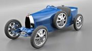 Kids' electric Bugatti is not your father's pedal car: