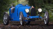 A classic Bugatti to scale