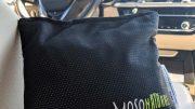 Odor elimination in a bag