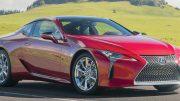 Lexus updates the LC: