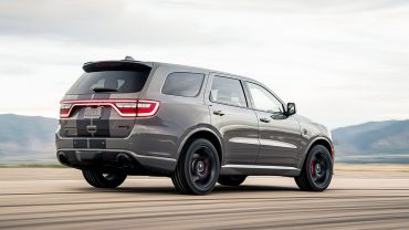 2021 DODGE DURANGO: The brand has just one utility vehicle, so it has to be a good one. Good thing it is