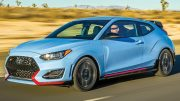 The 2022 Veloster will come in one version only: