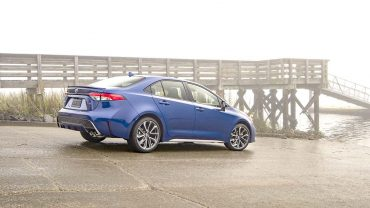 2020 TOYOTA COROLLA: A car known for being safe and reliable now has other attributes: More style and technology
