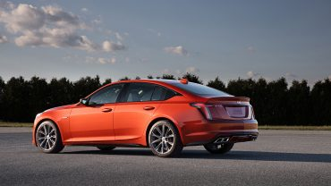 Cadillac CT5-V: If there's such a thing as a bargain luxury-performance sedan, this is it