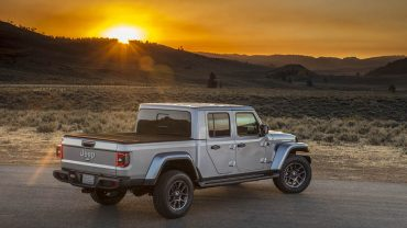 2020 JEEP GLADIATOR: The take-it-anywhere pickup owes plenty to its Wrangler roots