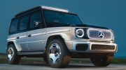 Mercedes-Benz prepares to launch an electric G-Glass: